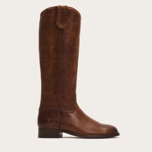 NWT Frye Melissa tall whip braided riding boots
